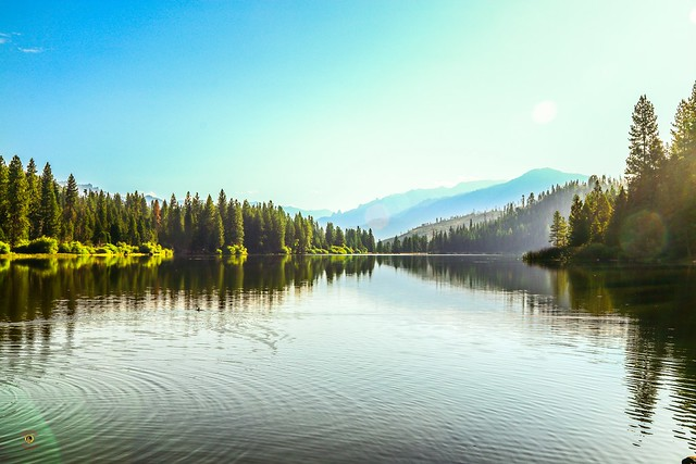 Sunrise @ Hume Lake, Ca