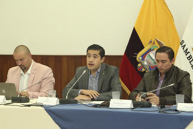 SESIÓN DE LA COMISIÓN DE RÉGIMEN ECONÓMICO, QUITO, 22 DE NOVIEMBRE 2019.