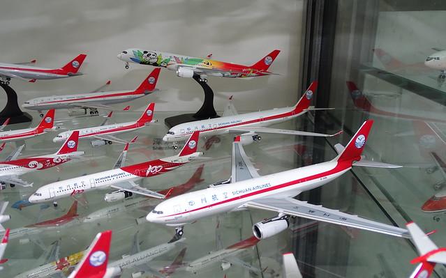 Sichuan Airlines Fleet