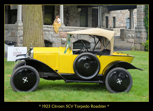 1923 Citroën 5CV Two-Passenger Torpedo