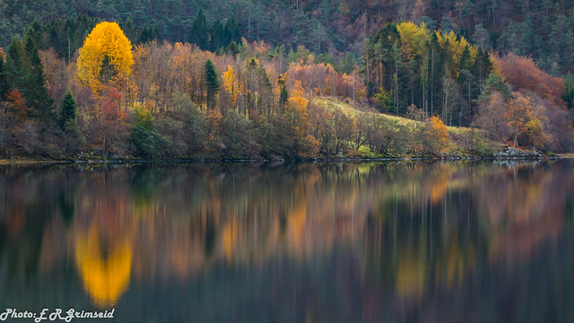 Autumn .Kalandsvatnet ( 3 )