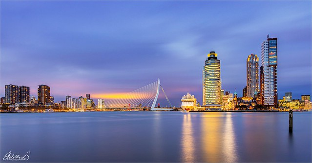First photo, Rotterdam, Netherlands