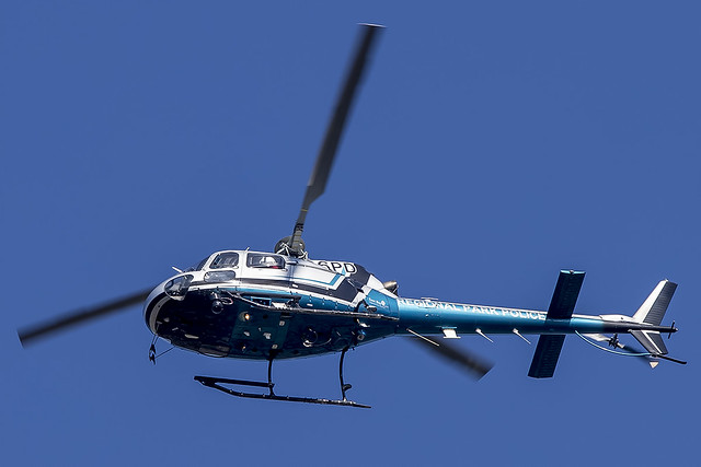 East Bay Regional Park District Police Eurocopter AS 350 B2