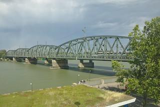 2018-07-14 AT Wien 20 Brigittenau & Wien 21 Floridsdorf, Donau, Nordbahnbrücke