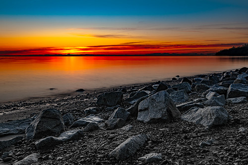 sunset beach whiterock longexposure sea sky seascape color colour colors landscape twilight rocks colours shoreline shore 1635mm 1635mmf4vr 1635mmf4ged travel nature lowlight nikon britishcolumbia tripod ngc stunning nikkor nationalgeographic travelplanet