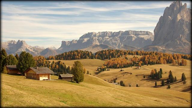 Green was yesterday (Südtirol, Italy)