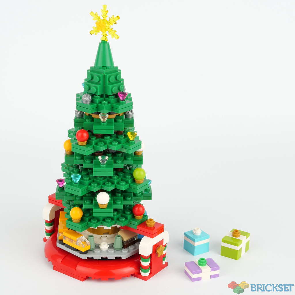 LEGO Seasonal 40338 Christmas Tree Review
