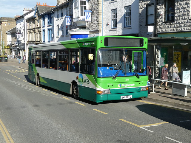 Stagecoach Cumbria & North Lancs 35193 191023 Kendal