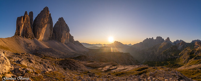 Tre cime in golden