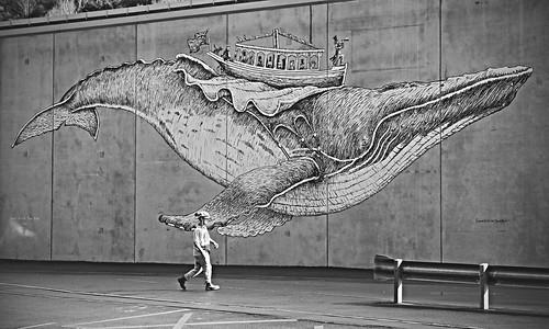 landscape otago portchalmers mural streetart man flyinghumpback davidelliot