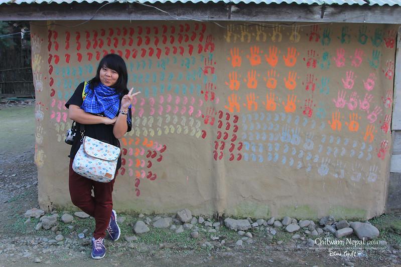 2014 Nepal Chitwan Tharu Tribal Village