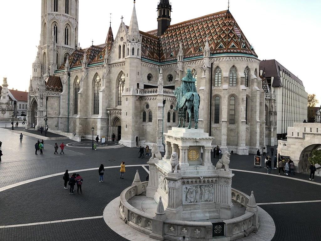 Budapest - Linnavuori, Matiaksenkirkko