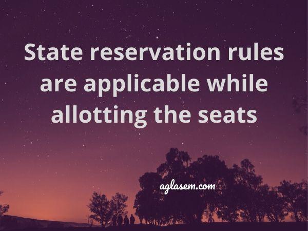 Manipur DIET 2020 seat reservation