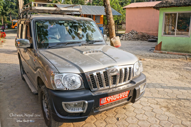 2014 Nepal Ground Transportation Jeep