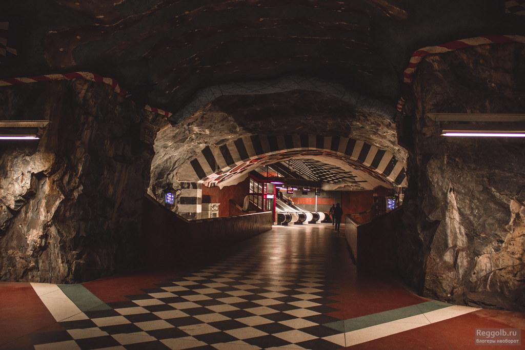 метро стокгольм фото