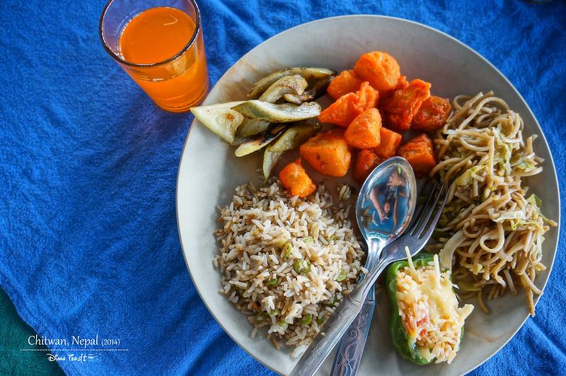 2014 Nepal Chitwan Lunch
