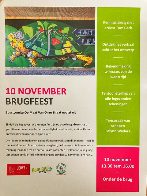 Brugfeest Oude Baan Leuven 10/11/2019