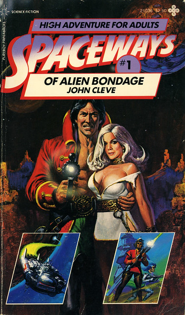 Playboy Paperbacks 21036 - John Cleve - Of Alien Bondage