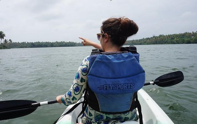 kayaked