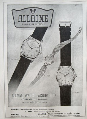 Allaine advert NLs