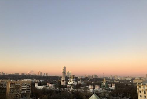 Moscow sunrise