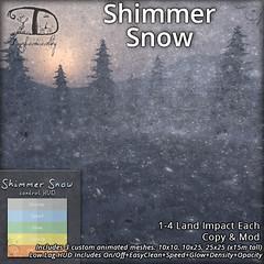 Shimmer Snow