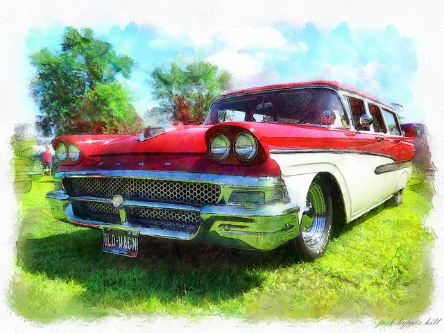 1958 Ford Ranch Wagon