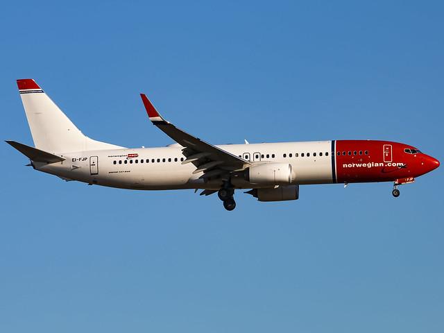 Norwegian Air International   Boeing 737-8JP(WL)   EI-FJP