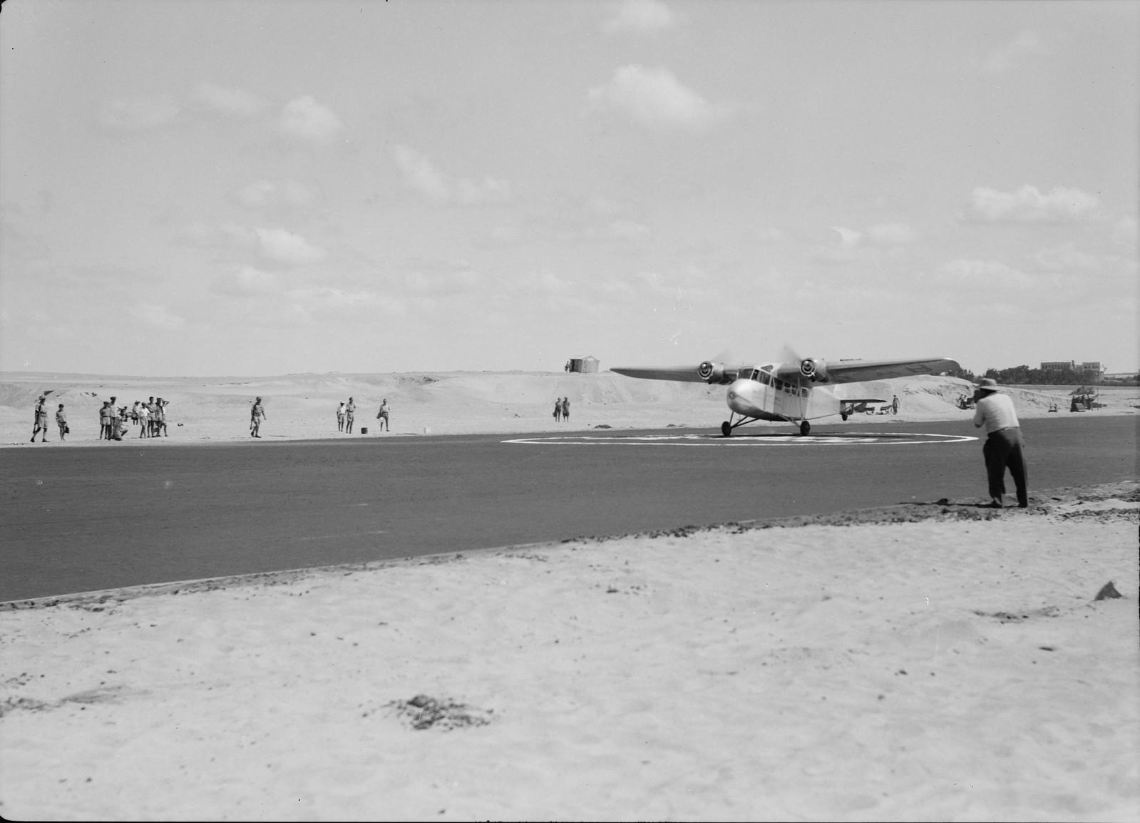 10. Самолет взлетает с аэродрома