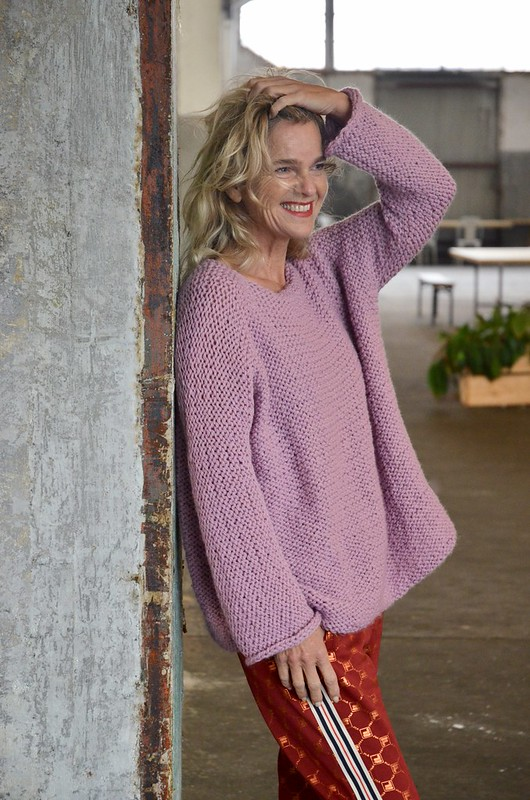 knitted julia sweater