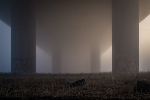fog under the bridge