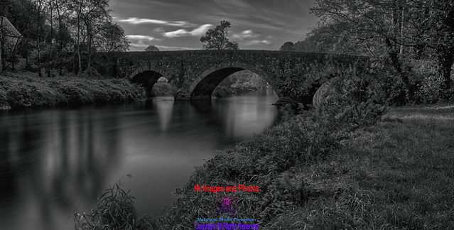 Bridge over the river Bann near Corbett