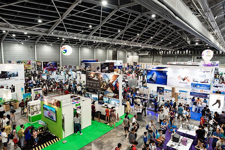 SITEX 2019 Singapore expo hall