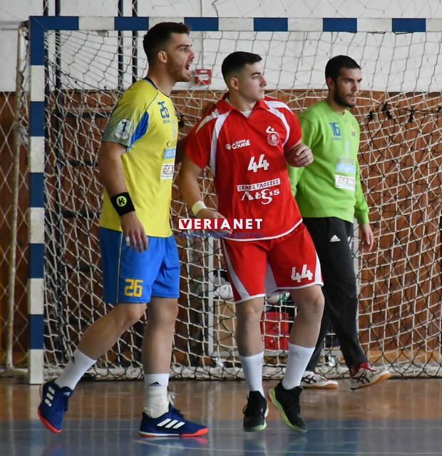 Handball Premier: Φίλιππος Βέροιας – Άρης Νίκαιας 24-24 23/11/2019
