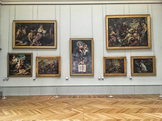 Paris  France ~ Louvre Museum ~ Historic Monument ~  Classical Gallery