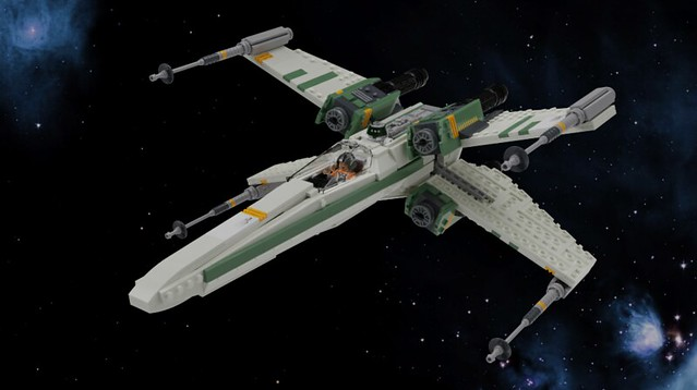 T-65 Engine Variant X-wing