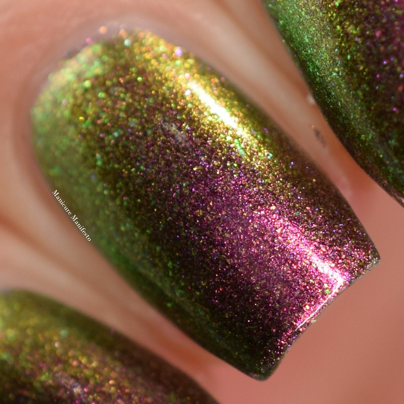Paint It Pretty Polish Santa Stop Here swatch