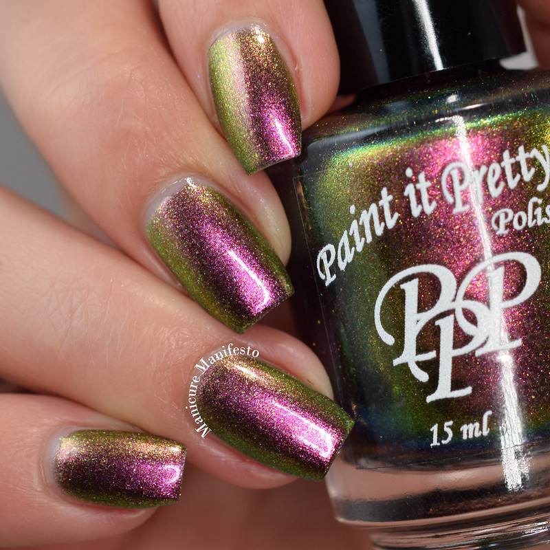 Paint It Pretty Polish Santa Stop Here
