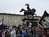 Oslavy titulu Juventusu na Piazza San Carlo, foto: Petr Nejedlý