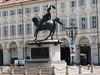 Piazza San Carlo – jezdecká socha vévody Emanuela Filiberta Savojského, foto: Petr Nejedlý