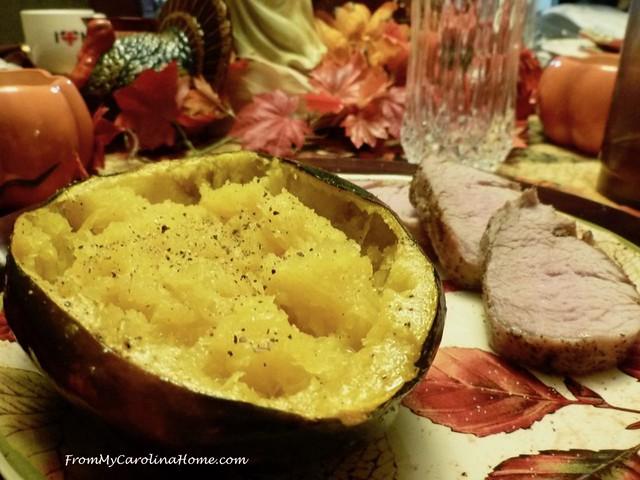 Acorn Squash Recipe at FromMyCarolinaHome.com