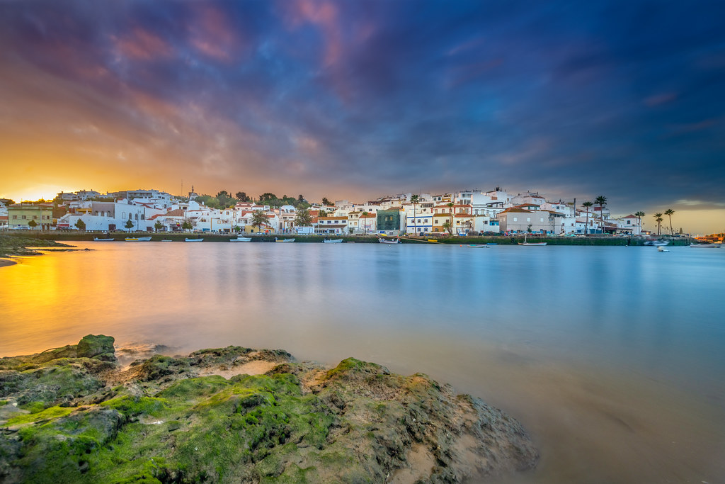 Rainy Sunrise At Ferragudo