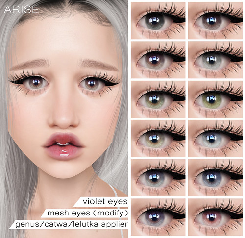 .ARISE. Violet Eyes