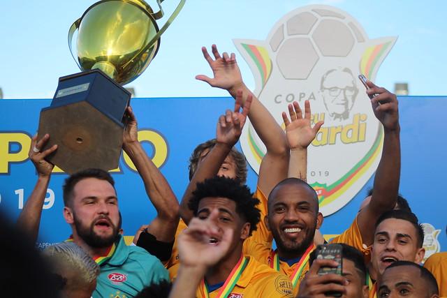Pelotas campeão da Copa Seu Verardi