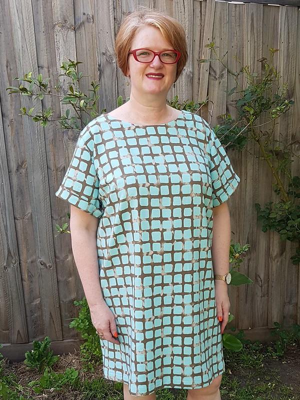 Closet Case Patterns Cielo dress in pique