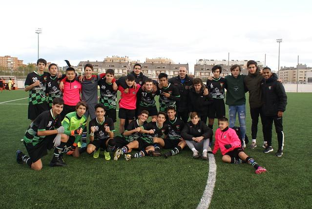 20191123 (Sport Villa de Vallecas 0 - Moratalaz 4)