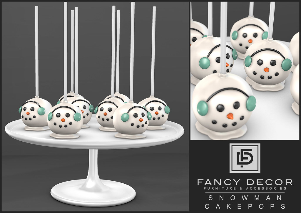 Snowman Cake Pops @ Tannenbaum