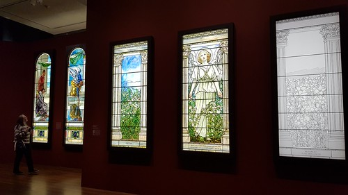 Stained Glass by Tiffany and La Farge