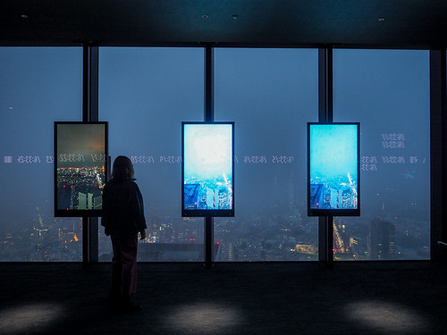 rain illumination nightview shibuyascramblesquare 展望台 shibuya 渋谷 observatory tokyo