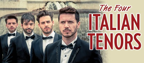 """The Four Italian Tenors"" at the Dr. Phillips Center"